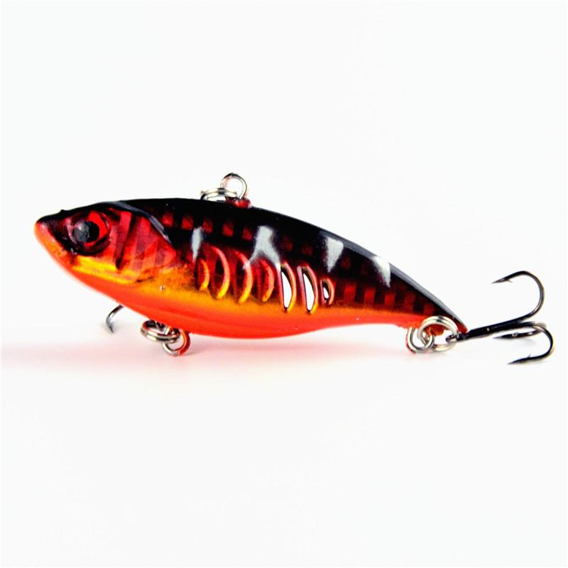 Limited прямых продаж Vib прикормы Крючки 6.5cm Холодец воблер 10,4 г Pike сома swimbaits Lifelike приманку