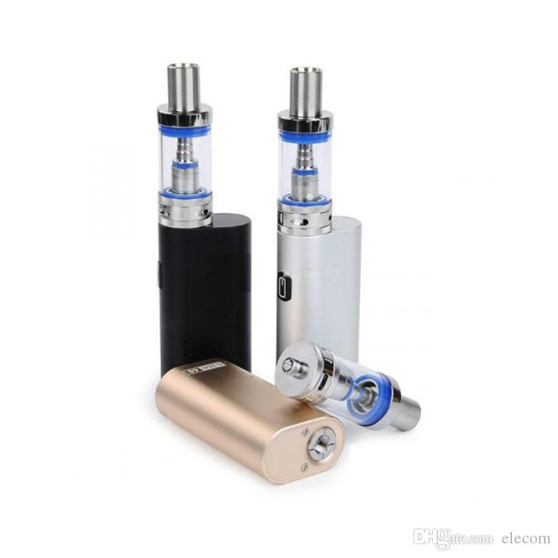 Sıcak Jomo Lite 40 Kiti bulit-in 2200 mAh pil JomoTech 40 w kutusu mod mini 3 ml Lite tankı ile e-sigaralar buharlaştırıcı kitleri VS 40 W