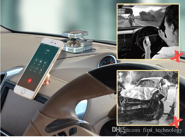 Samsung 로고 플러스 Iphone x 8을위한 자석 차 산 장비 끈끈한 대 홀더는 주문을 받아서 만들어 질 수 있습니다