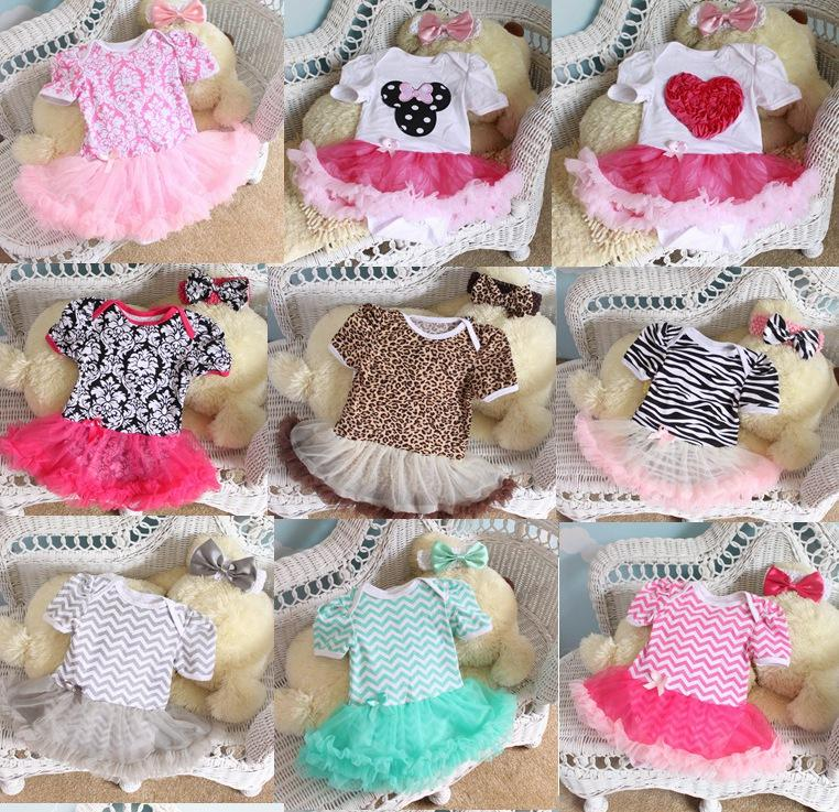 2019 2016 Newborn Chevron Tutu Romper Dress   Headbands Toddler Zig Zag  Ruffles Tutu Rompers Plain Tutu Jumpsuits Baby Romper Dress 27 Styles From  Melee 2f06a993e9c