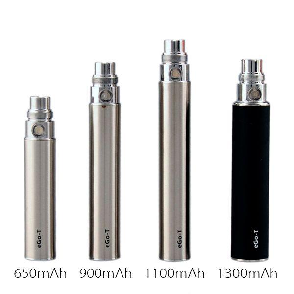 EGO-T ego t E Cigarette 650/900/1100mAh Battery for ce4 ce5 ce6 mini protank 2 3 mt3 atomizer clearomizer colorful in stock
