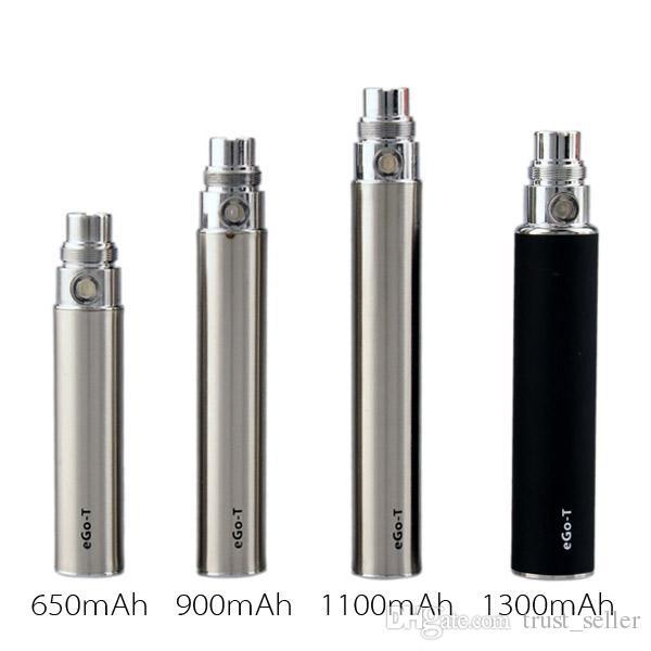 Ego-T Ego T E Cigarrillo 650/900 / 1100mAh Batería para CE4 CE5 CE6 MINI PROTANK 2 3 MT3 Atomizador Clearomizer Colorido En stock