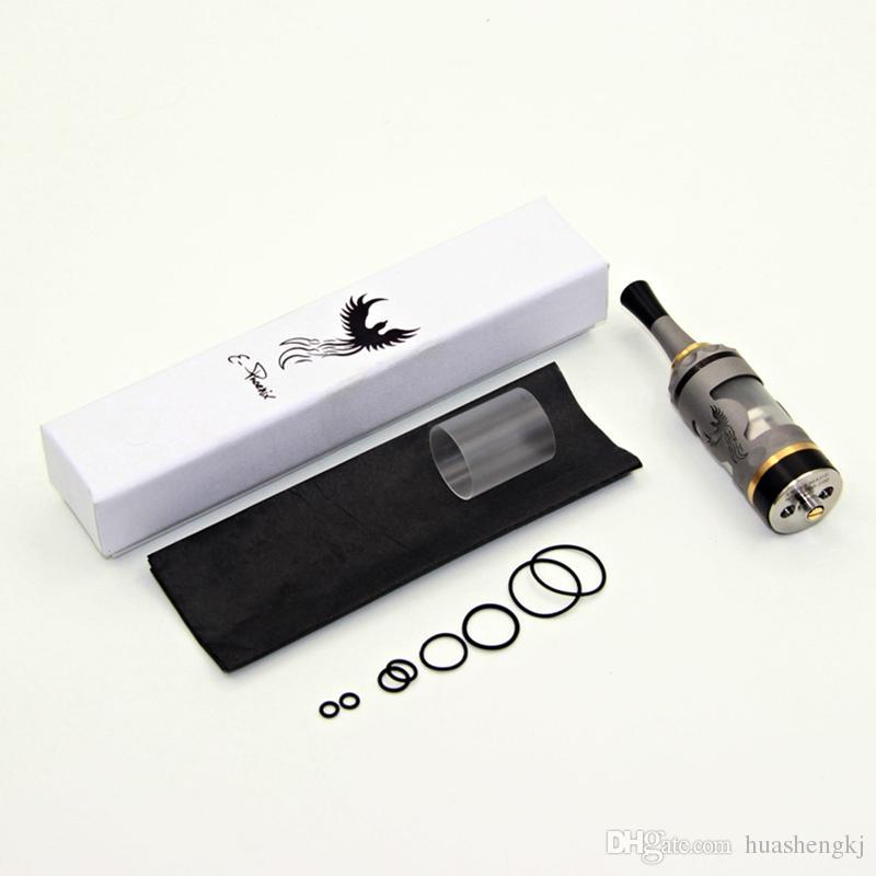 뜨거운 판매 화재 조류 RTA 파이어 버드 RTDA 최신 diy 원자재 좋은 맛 316 스테인리스 5ml 510 드립 팁으로 조절 공기 흐름 세이코 DHL