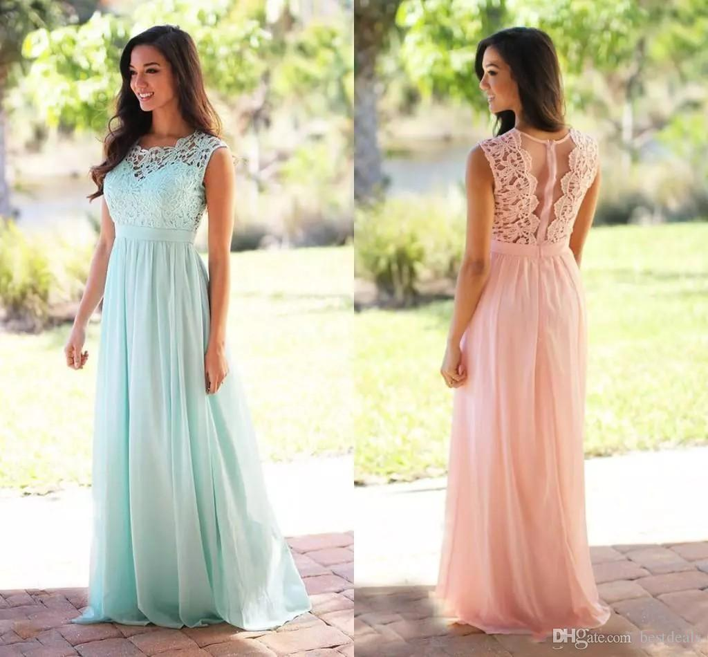 2017 cheap mint green coral bridesmaid dresses jewel neck 40 ombrellifo Image collections