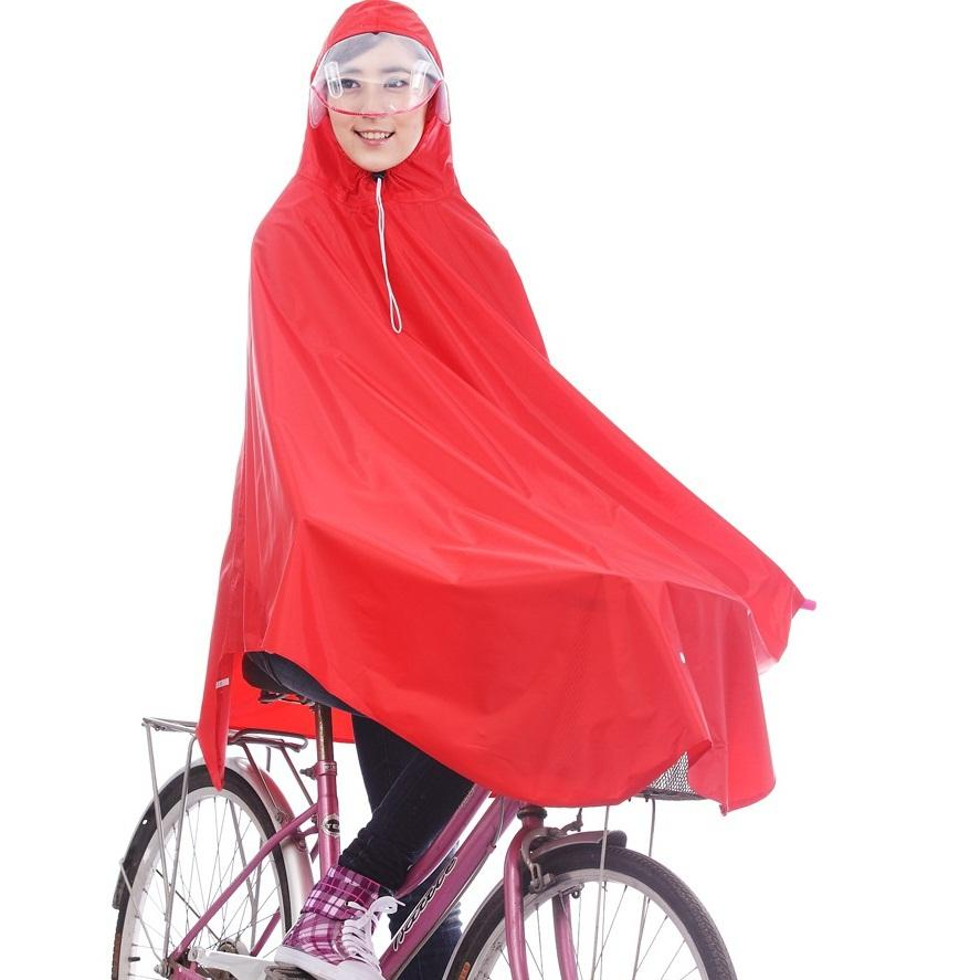 2018 Riding Raincoats Lengthening Brim Bicycle Rainwear Bicycle