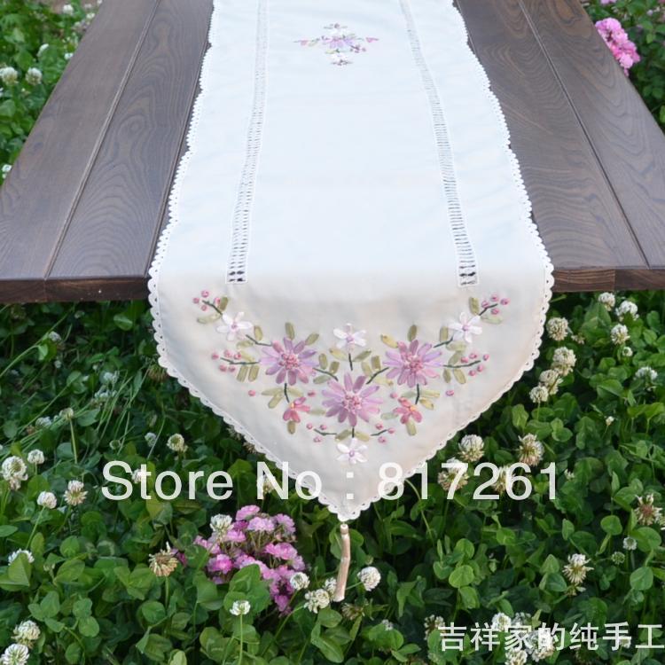 Acheter Livraison Gratuite Ruban Ikea Table De Mode Coureur Brode