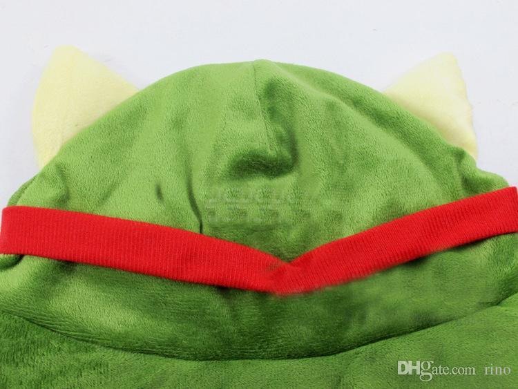 League of Legends cosplay cap Hat Teemo hat Plush+ Cotton LOL plush toys Hats EMS