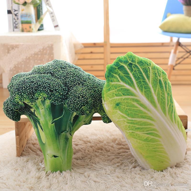 وسادة الخضروات محاكاة الإبداعية ، الجملة هدايا العيد للأطفال لعب الاطفال