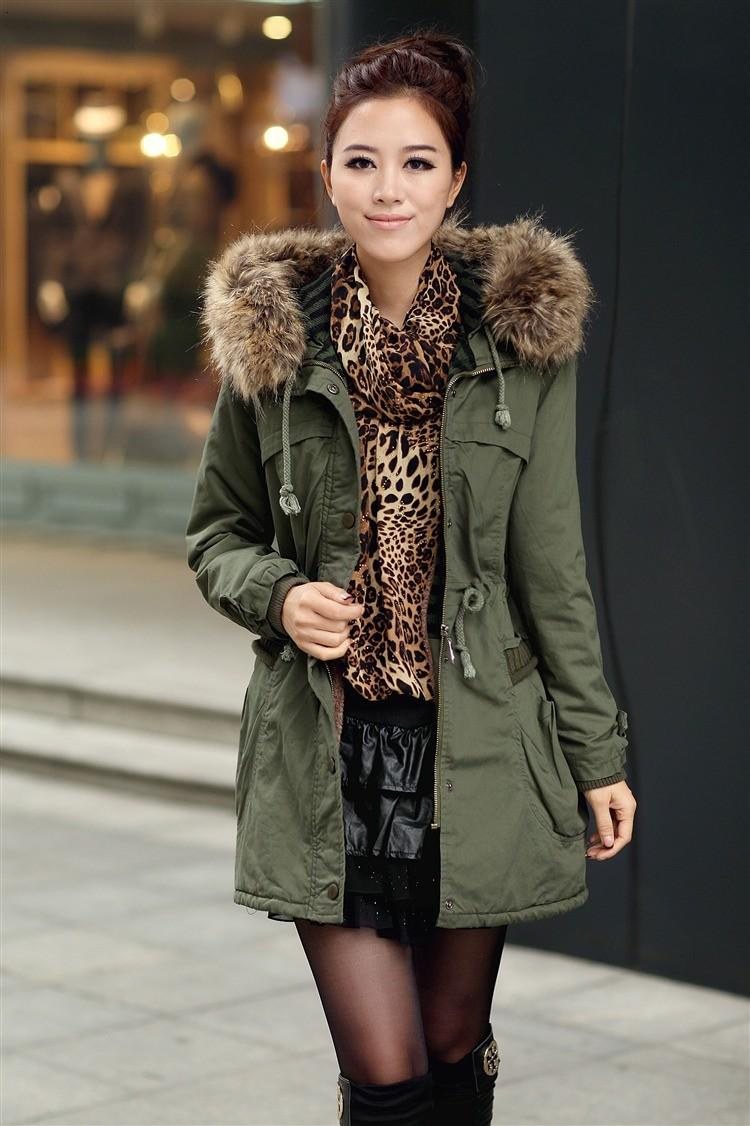 Discount New Womens Thicken Fleece Warm Faux Fur Winter Coat Zip ...