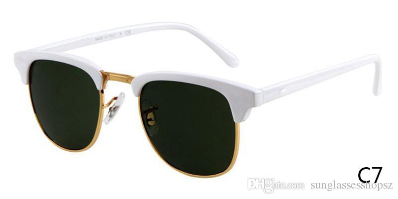 2017 HOT High quality New Vintage Round sunglasses Women men brand design High-street Steampunk Glasses uv400 sunglasses