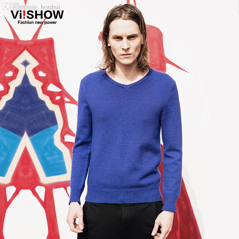 Best Wholesale Viishow Sweater Men Outdoor Sport Men Knitted Round ...
