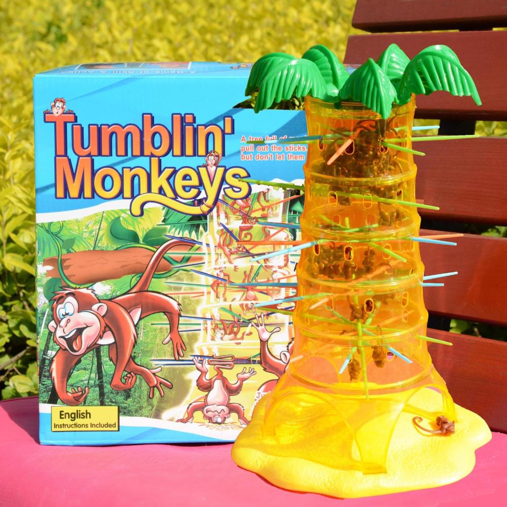 table games for kids. children 3 6 years old table games tipper monkey climbing a tree to pick rods educational toys parent child interaction for kids