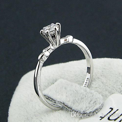 2016 fashion wedding RING Simulated Diamond twist Rings for women ,stamped 18KGP gold-plating ring,Swarovski crystal jewelry