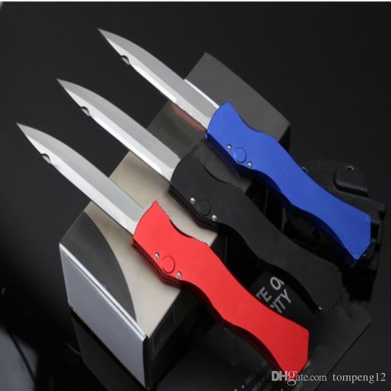 남성 freeshippin에 대한 뜨거운 판매 마일 HO 4 칼 세 가지 색상 사냥 접이식 포켓 나이프 서바이벌 나이프 크리스마스 선물