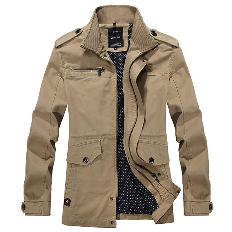 Men Jackets Men Casual Brand Jacket Mens Spring Coat Korean ...