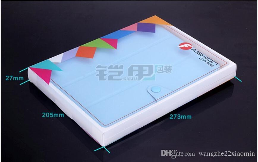 Universal ipad 234 Case Package PVC Transparent Plastic Retail Packaging Box for ipad for Samsung Tablet