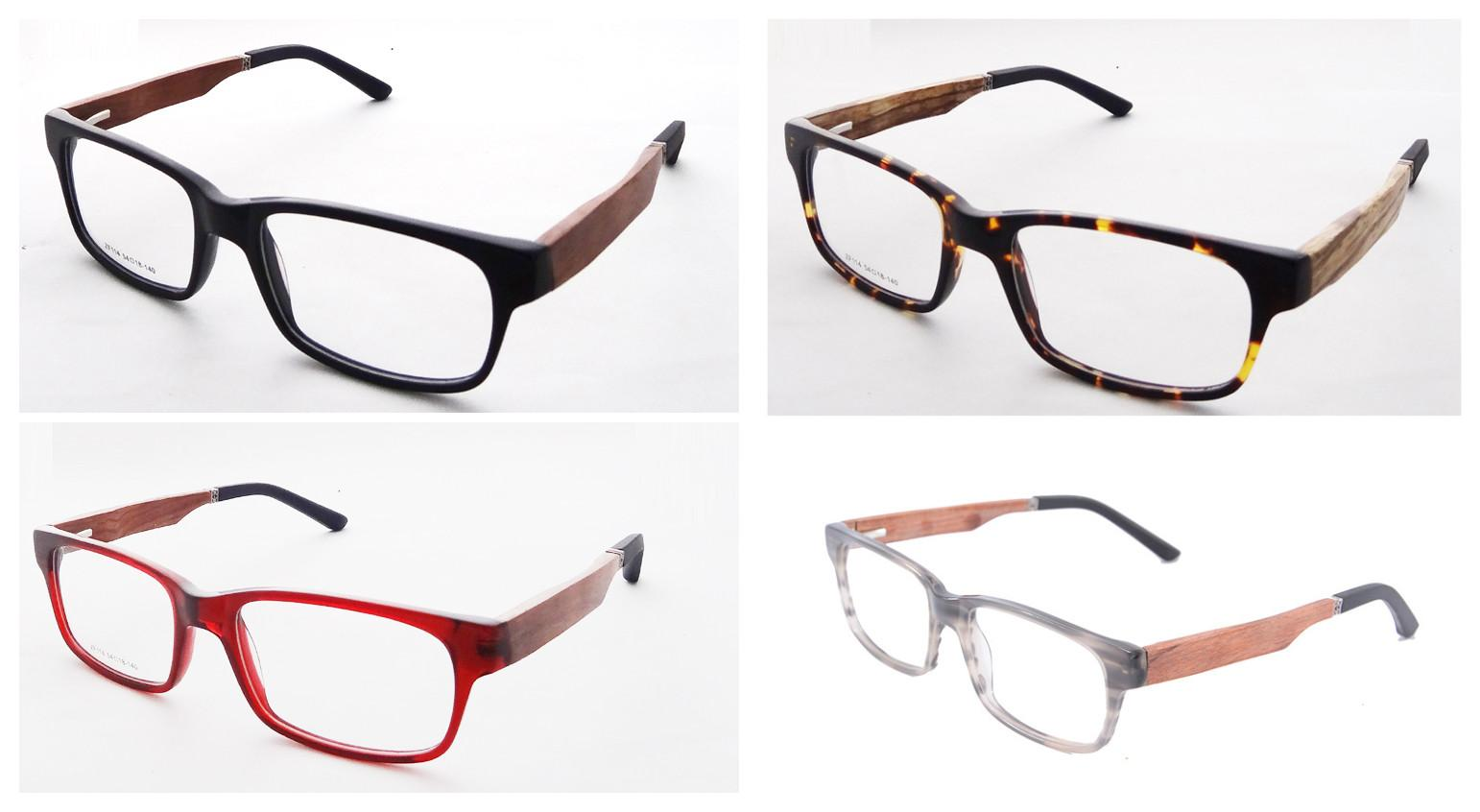 Prescription Eyeglasses Acetate Glasses Full Frame Myopia Eyewear ...