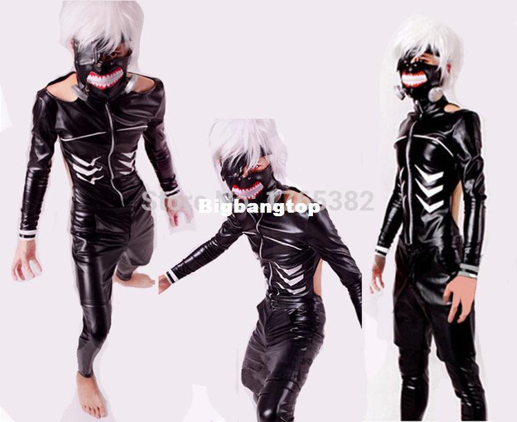 1510 Japan Anime Tokyo Ghoul Cos Kaneki Ken Cosplay Costume Leather