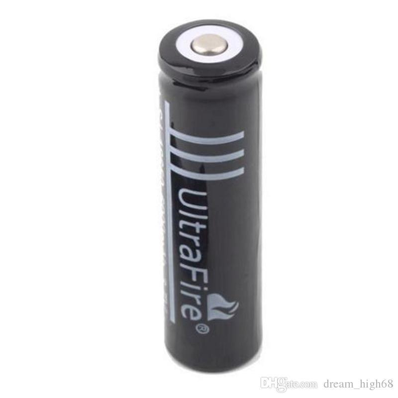 Black Ultrafire 18650 высокая емкость 6000 мАч 3,7 В литий-ионный аккумулятор для светодиодного фонарика цифровой камеры литиевые батареи зарядное устройство