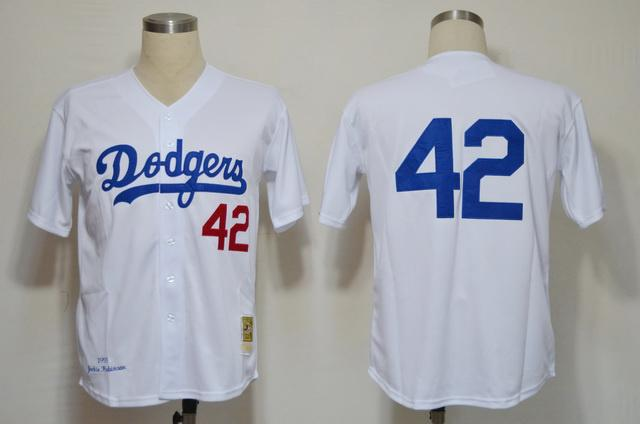 the best attitude 13d57 413bc 42 2019 Sale Jersey Mlb Discount Dodgers Baseball Jerseys ...