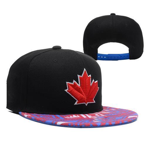 Black Blue Jays Caps Fashion Baseball Snapbacks Cheap Flat Caps ... 3eab2fa1375