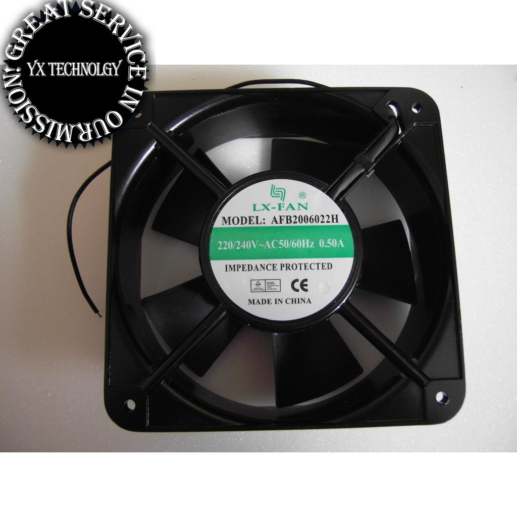 Charmant AFB2006022H Cabinet Blower 20060 A 220V Welder Fan Axial Fan Cooling Fan  200*200X60mm Axial Fan Cooling Fan AFB2006022H 220V 0.50A Fan Axial Fan  Cooling Fan ...