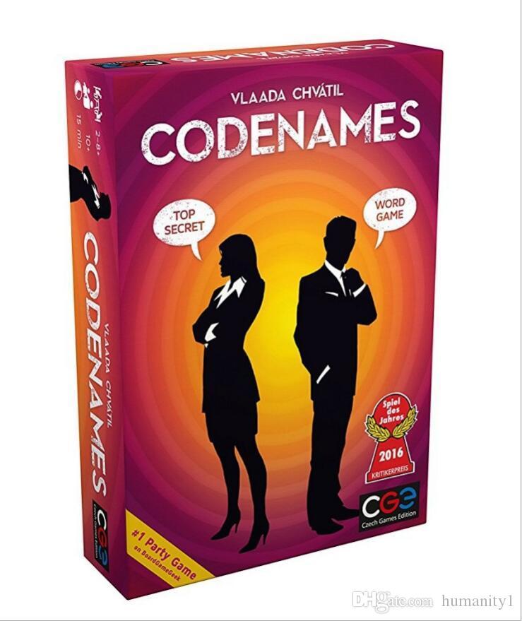 Großhandel Brettspiele Codenames Party Spiel Lustige Spiele Für