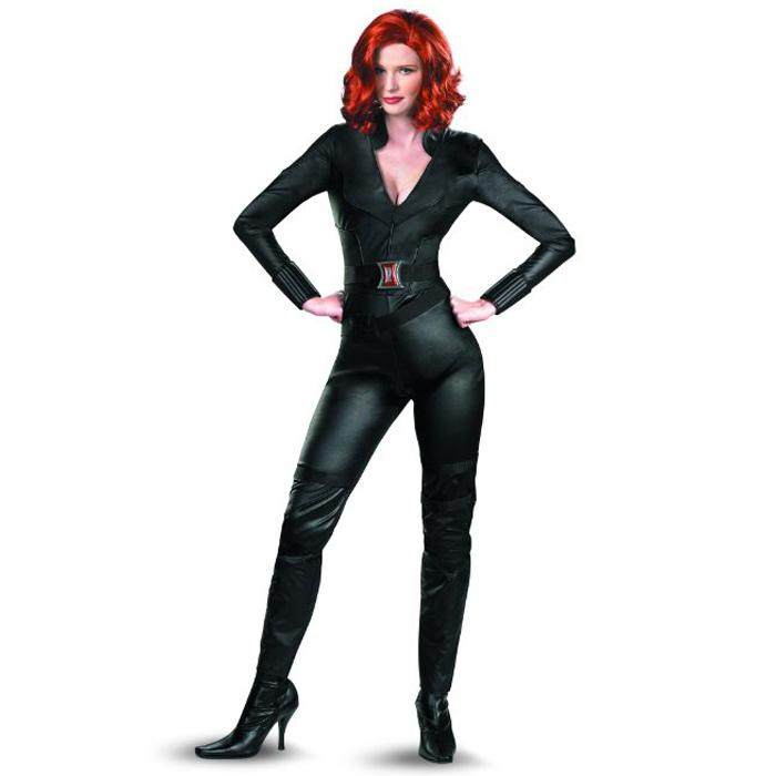 The Avengers Black Widow Costume Women Natasha Romanoff Cosplay Adult Captain America Superhero Faux Leather Catsuit Wholesale Baby Halloween Costume Kid ...  sc 1 st  DHgate.com & The Avengers Black Widow Costume Women Natasha Romanoff Cosplay ...