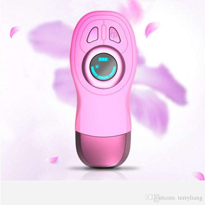 newest blue lighting painless permanent heater wire electric epilator lady male stripper laser shaver hair removal