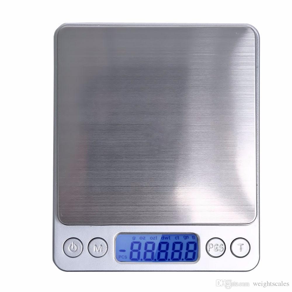 Taşınabilir Dijital Takı Hassas Cep Ölçeği Tartı Terazi Mini LCD mutfak Denge Ağırlığı Ölçekler 500g 0.01g 1000g 200g 3000g