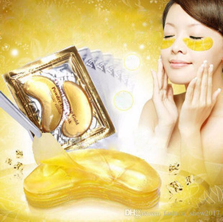 Gold Crystal Collagen Eye Mask Hotsale Eye Patches For the Anti Dark Circle Remove Black Eye Face Care