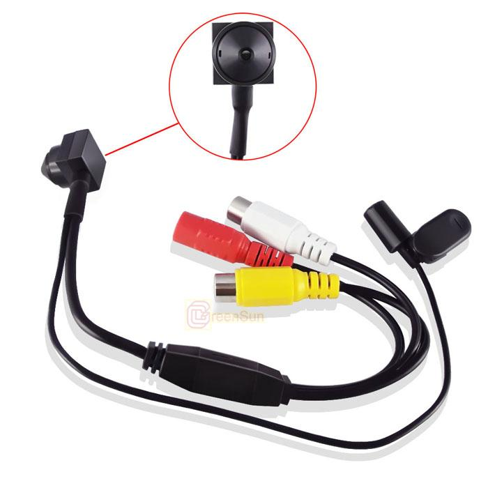 "1/3"" Sony CCD 700TVL Color Mini CCTV Security Camera with 3.7mm Pinhole Lens"