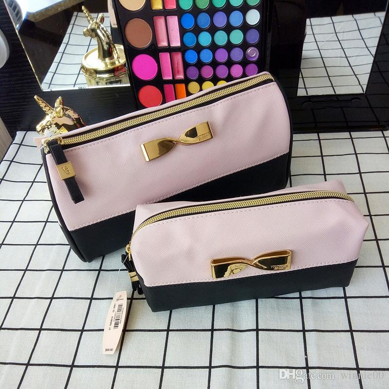 621c6b09b08a Fashion Design New Arrival VS Cosmetic Bag Female Wash Makeup Bag ...