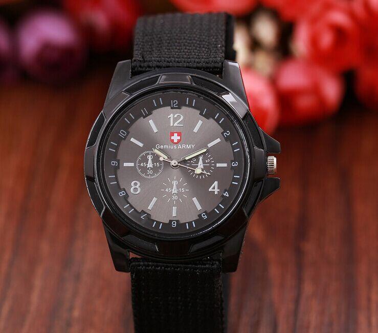 ba4e8d4adaf Swiss Gemius amry Quartz Homens relógio Militar Mergulhadores Forças  Especiais Do Exército Excelente Gemius exército Racing Force relógio de  Quartzo Cinta ...