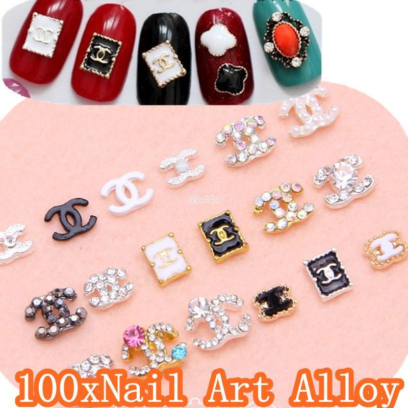 Designs Nail Art Alloy Brand Name 3d Metal Nail Art Decorations With ...
