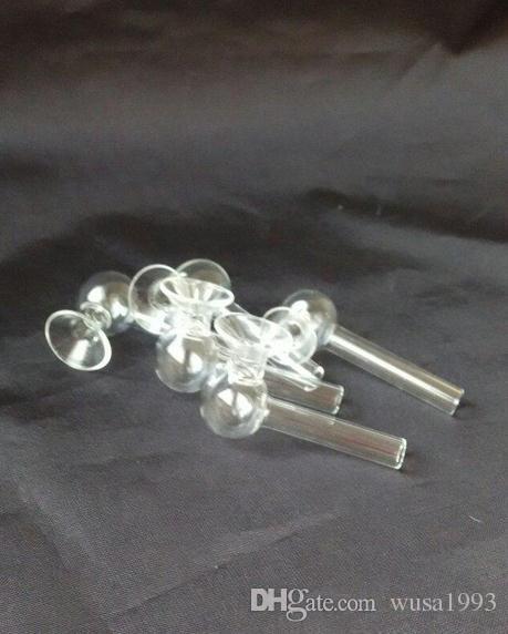envío gratis ----- 2015 nueva campana de vidrio transparente quemadura recta, vidrio Hookah / vidrio bong accesorios, ventas al contado
