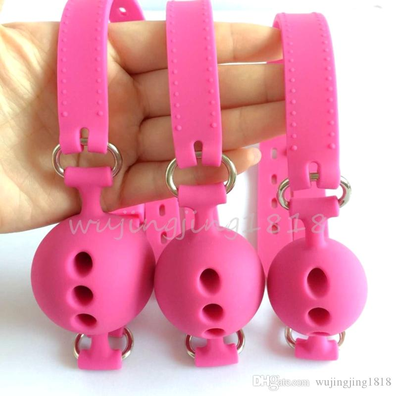 Full Silicone Open Mouth Gag Oral Fixation mouth stuffed Bondage Restraints Adult Games For Couples Flirting Sex Toys