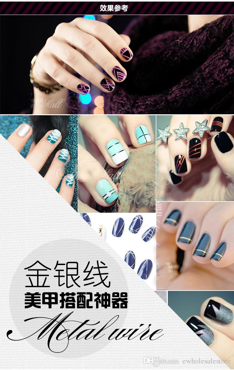 Full Beauty Rolls Striping Decals Foil Tips Tape Line Diy Design ...