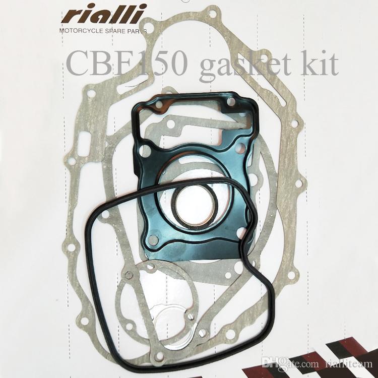 Kit de juntas para motocicleta Avanzado para el asbesto Papel de deslizamiento adecuado para Honda Yamaha Bajaj Keeway Suzuki Motor Buen rendimiento