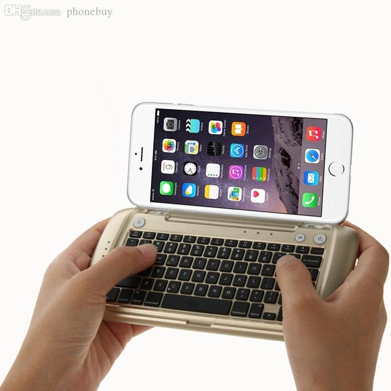 External Bluetooth Keyboard For Android Phone: Wholesale Ultra Portable Mobile Phone Keypad, Bluetooth Keyboard With 9000mah Power Bank For
