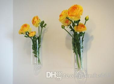 Modern wall design Wall Glass Vases flower pots planters Home Decoration Flower vases