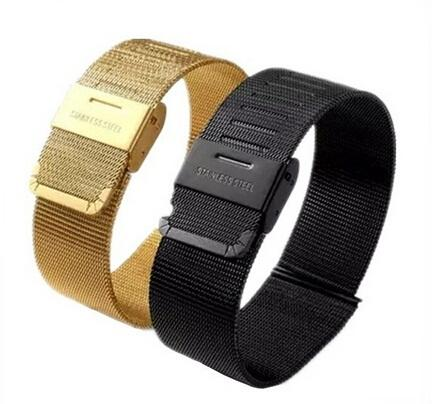 iphone watch bands classic black gold stainless steel band for apple 2032