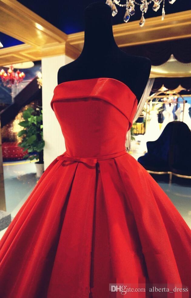 Реальные фото длинные платья выпускного вечера вечерние платья с лентами сексуальное без бретелек с скользящим шлейфом пятно элегантное вечернее платье красные платья