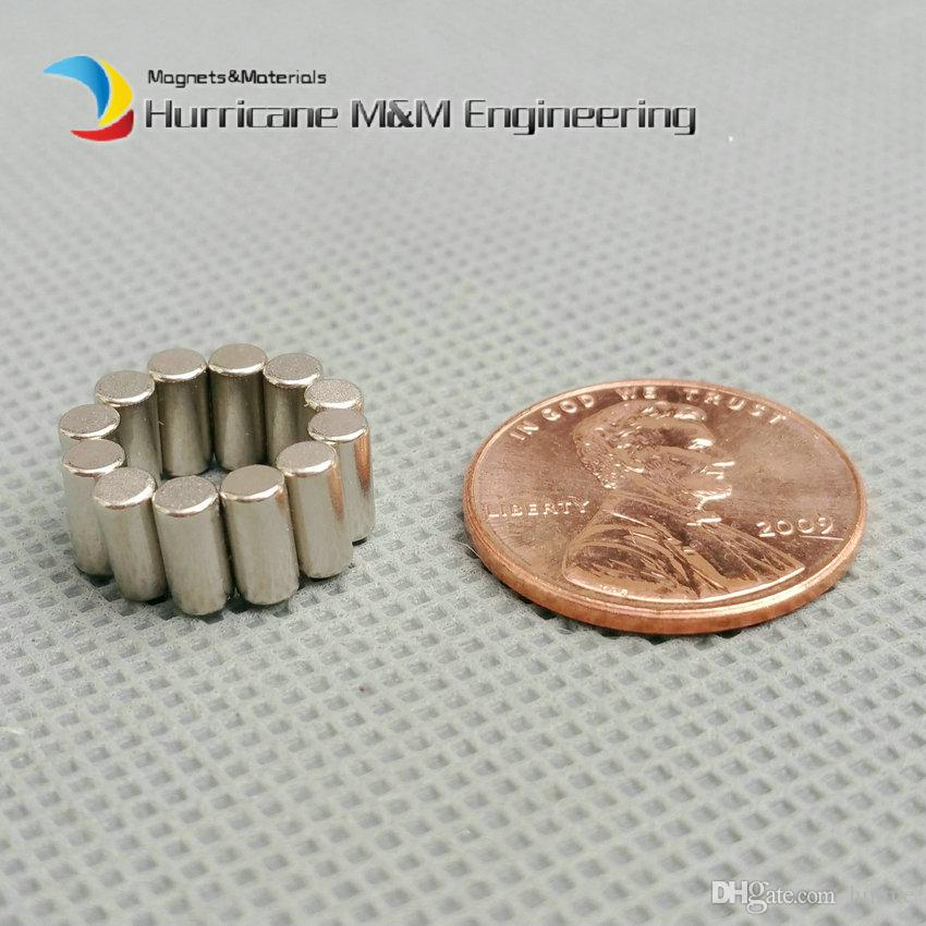 Diametrically NdFeB Magnet for 3D Printed Catan Board Connect 3D Printer Accessory Diameter 3x6 mm about 1/8'' Strong Neodymium Magnets