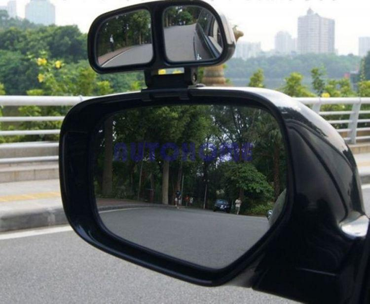 1 X Blind Spot Car Rear View Side Wide Angle View Mirror Vehicle 2 Mirror Inside order<$18no track