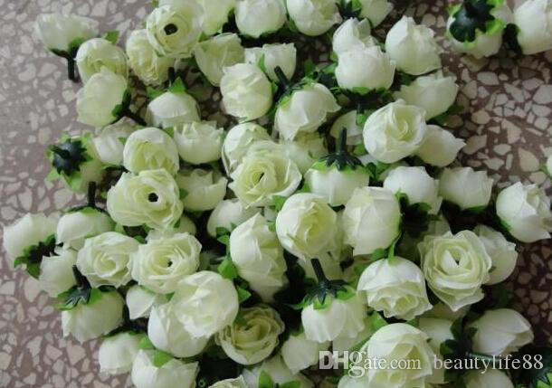 ارتفع اللون الوردي الحرير روزبوود زهرة رئيس 1000 قطع الزهور الاصطناعية كاميليا الفاوانيا زهرة رئيس الزفاف حفلة عيد الميلاد