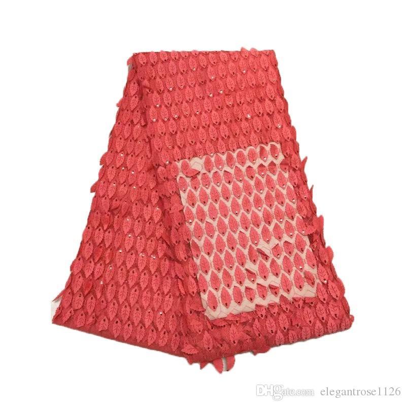 Лучший африканский кружева ткань золотой цвет нигерийский французский ткань 2017 высокое качество Африканский тюль кружева ткань для свадебного платья GYNL0012