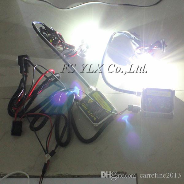 1 x HID Xenon Kit Single Beam Wire Harness Cable with Relay for H1 H7 H8 H9 H11 9005 9006