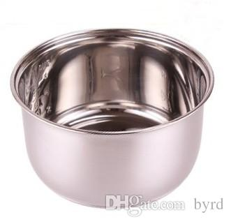 4lrice fornuis roestvrij staal non-stick binnenste pot rijstkokers pot hardware keuken apparaten accessoires delen van hardware ijs vaten 4L