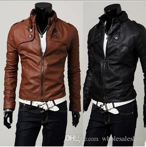 Cardigan Mens Jackets Men Warm Coat Clothing Korean Men Collar Men ...